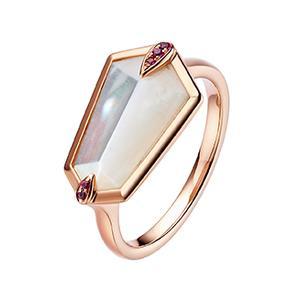 Nova Kite Ring in Rose Gold